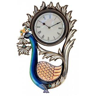 Multicolour Classical Wall Clock Handmade
