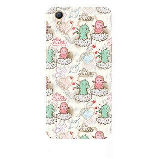CopyCatz Cute Dragon Love Premium Printed Case For Oppo A37