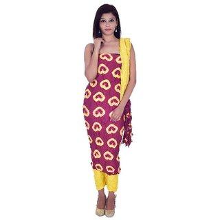4f3824b38a73 Buy Apratim Pink Chiffon Dress Material (Unstitched) Online - Get 20% Off