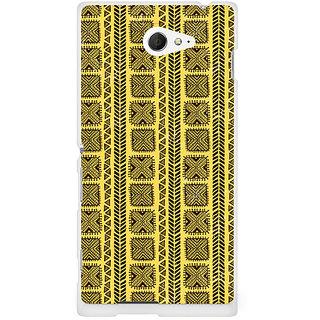 CopyCatz Tribal Ethnic Ornament Premium Printed Case For Sony Xperia M2 S50h