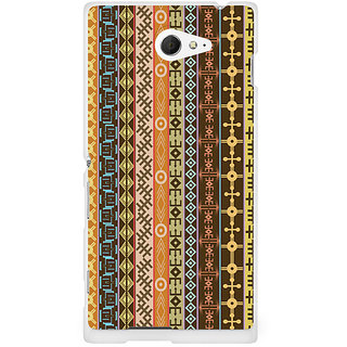 CopyCatz Geometric Abstract Premium Printed Case For Sony Xperia M2 S50h