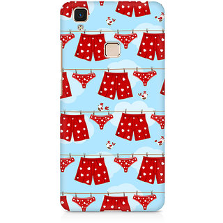 CopyCatz I Love Chocolate Premium Printed Case For Vivo V3 Max