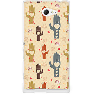 CopyCatz Wafer Chocolate Splash Premium Printed Case For Sony Xperia M2 S50h