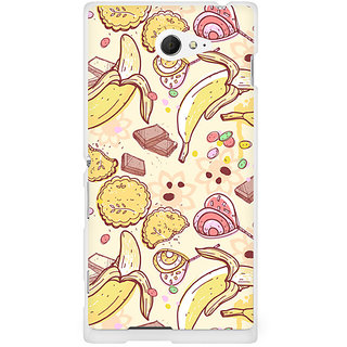 CopyCatz Chocolate And Candy Premium Printed Case For Sony Xperia M2 S50h