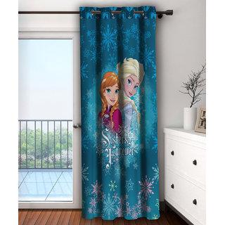 Disney- Athom Trendz- Frozen- Kids- Door Curtain- Single Piece- 48