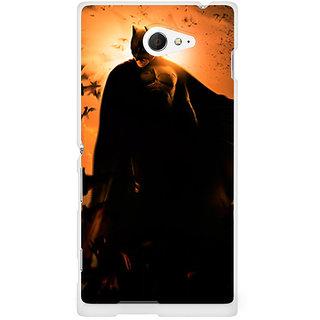 CopyCatz Batman Silhoutte Premium Printed Case For Sony Xperia M2 S50h