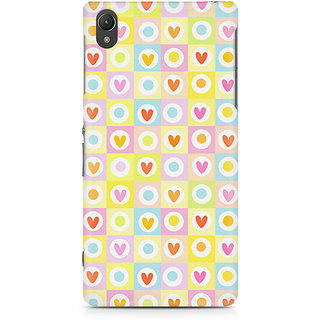 CopyCatz Abtract Heart Fusion Premium Printed Case For Sony Xperia Z5 Dual