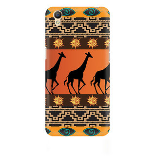 CopyCatz Tribal Giraffe Premium Printed Case For Oppo A37