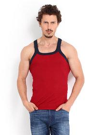 Red Gym Vest for Men Pack of 2
