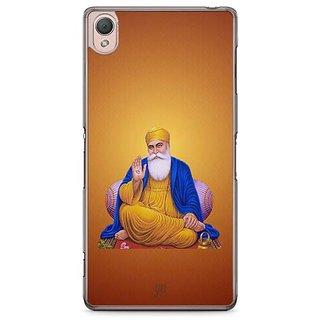 YuBingo Guru Nanak Dev Ji Designer Mobile Case Back Cover For Sony Xperia Z3
