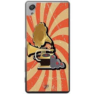 YuBingo Vintage Gramophone Designer Mobile Case Back Cover For Sony Xperia XA