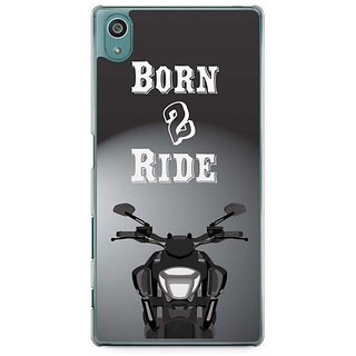 YuBingo Born To Ride Designer Mobile Case Back Cover For Sony Xperia Z5