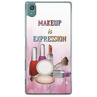 YuBingo Makeup Is Expression Designer Mobile Case Back Cover For Sony Xperia Z5