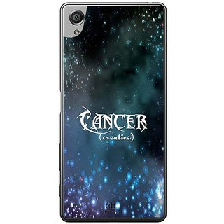 YuBingo Cancer (Creative) Designer Mobile Case Back Cover For Sony Xperia XA