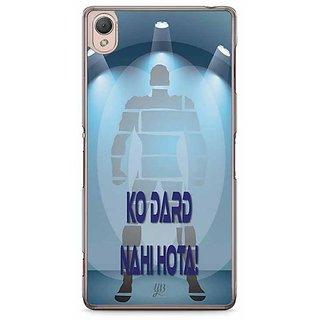 YuBingo Mard Ko Dard Nahin Hota Designer Mobile Case Back Cover For Sony Xperia Z3