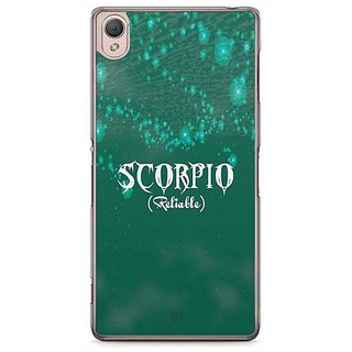 YuBingo Scorpio (Reliable) Designer Mobile Case Back Cover For Sony Xperia Z3