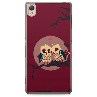 YuBingo Love Birds Designer Mobile Case Back Cover For Sony Xperia Z3