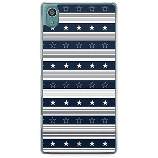 YuBingo Star And Stripes Designer Mobile Case Back Cover For Sony Xperia Z5