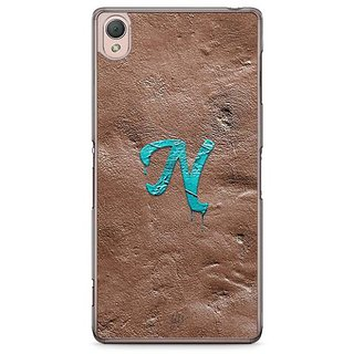 YuBingo Monogram With Beautifully Written Paint Finish Letter N Designer Mobile Case Back Cover For Sony Xperia Z3