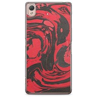 YuBingo Marble Finish (Plastic) Designer Mobile Case Back Cover For Sony Xperia Z3