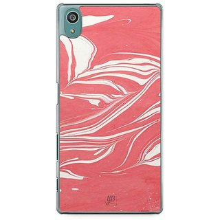 YuBingo Marble Finish (Plastic) Designer Mobile Case Back Cover For Sony Xperia Z5