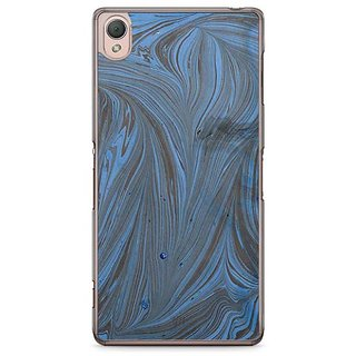 YuBingo Marble Finish (Plastic) Designer Mobile Case Back Cover For Sony Xperia Z3
