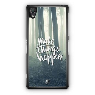 YuBingo Make Things Happen Designer Mobile Case Back Cover For Sony Xperia Z2