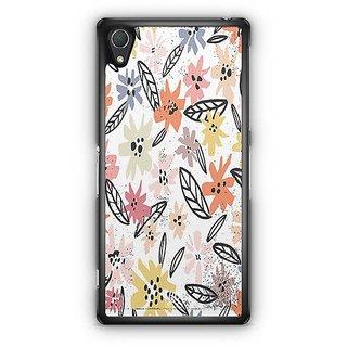 YuBingo Multi Colour Flowers Pattern Designer Mobile Case Back Cover For Sony Xperia Z2