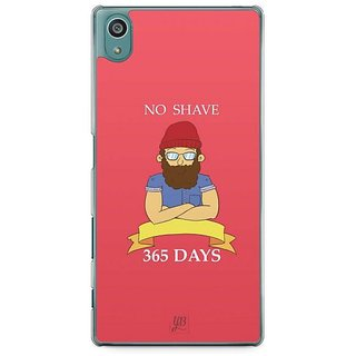 YuBingo No Shave, 365 Days Designer Mobile Case Back Cover For Sony Xperia Z5