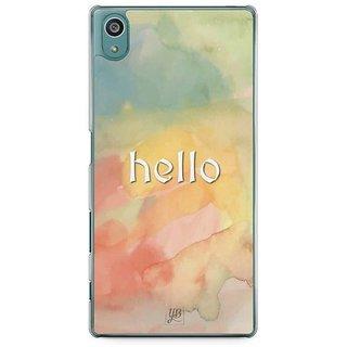 YuBingo Hello Designer Mobile Case Back Cover For Sony Xperia Z5