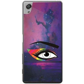 YuBingo Colourful Eye Designer Mobile Case Back Cover For Sony Xperia XA