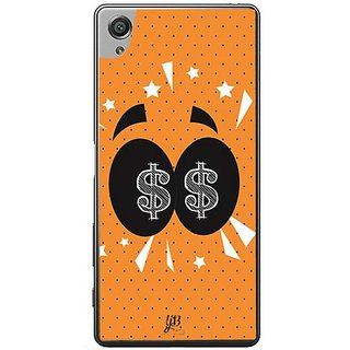 YuBingo Money In My Eyes Designer Mobile Case Back Cover For Sony Xperia XA