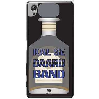 YuBingo Kal Se Daaru Band Designer Mobile Case Back Cover For Sony Xperia XA