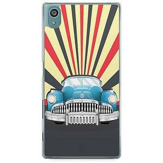YuBingo Vintage Car Designer Mobile Case Back Cover For Sony Xperia Z5