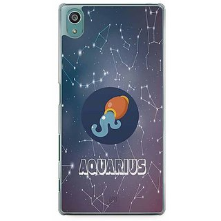 YuBingo Aquarius Designer Mobile Case Back Cover For Sony Xperia Z5