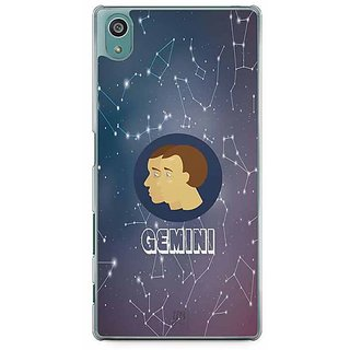 YuBingo Gemini Designer Mobile Case Back Cover For Sony Xperia Z5