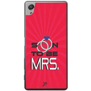 YuBingo Soon To Be Mrs. Designer Mobile Case Back Cover For Sony Xperia XA