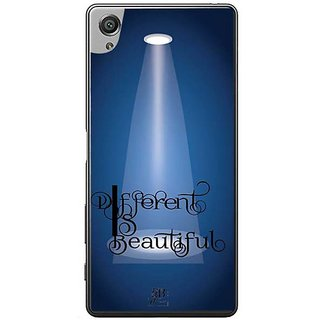 YuBingo Different Is Beautiful Designer Mobile Case Back Cover For Sony Xperia XA
