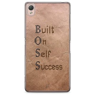 YuBingo Built On Self Success Designer Mobile Case Back Cover For Sony Xperia Z3