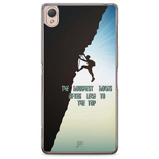 YuBingo Roughest Roads Lead To The Top Designer Mobile Case Back Cover For Sony Xperia Z3