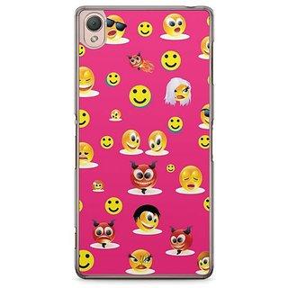 YuBingo Smileys In Various Avatars Designer Mobile Case Back Cover For Sony Xperia Z3