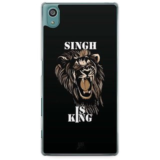 YuBingo Singh Is King Designer Mobile Case Back Cover For Sony Xperia Z5