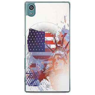 YuBingo Statue Of Liberty Designer Mobile Case Back Cover For Sony Xperia Z5
