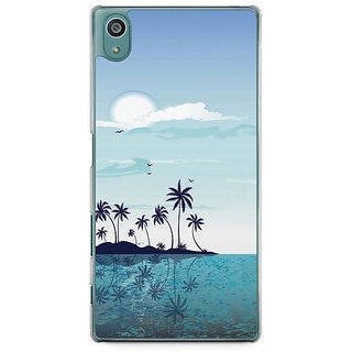 YuBingo Beach And Sky Designer Mobile Case Back Cover For Sony Xperia Z5