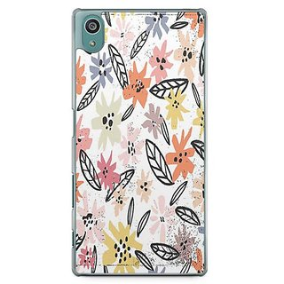 YuBingo Multi Colour Flowers Pattern Designer Mobile Case Back Cover For Sony Xperia Z5