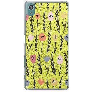 YuBingo Colourful Flowers Designer Mobile Case Back Cover For Sony Xperia Z5