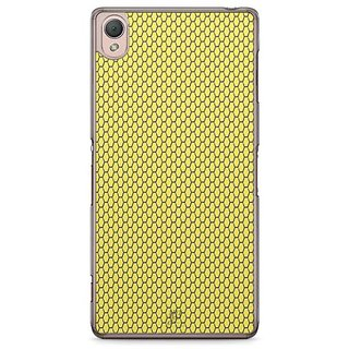 YuBingo Yellow Hexagon Pattern Designer Mobile Case Back Cover For Sony Xperia Z3