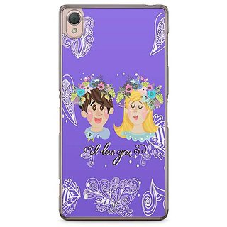 YuBingo I Love You Designer Mobile Case Back Cover For Sony Xperia Z3