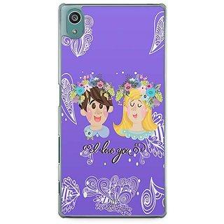 YuBingo I Love You Designer Mobile Case Back Cover For Sony Xperia Z5