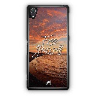 YuBingo Free Yourself Designer Mobile Case Back Cover For Sony Xperia Z2